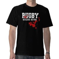 Rugby No Blood No Foul T-shirts from