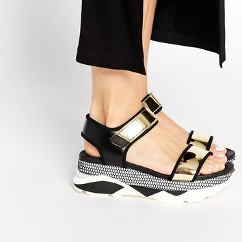 ALDO Zarella Active Footbed Sole Flat Sandals