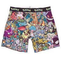 Multi Character Pokemon Boxer Briefs - Spencer's