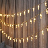 Romantic Battery Fairy String Light Garland Lamp Novelty Light Photo Clip Luminaria For Festival Christmas Wedding Decoration