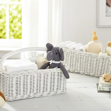 Simply White Sabrina Nursery Baskets