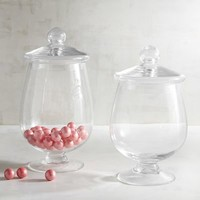 Glass Apothecary Jars