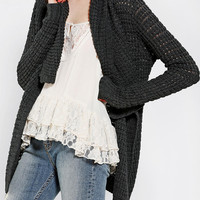 Urban Outfitters - Staring At Stars Cozy Shawl-Collar Cardigan