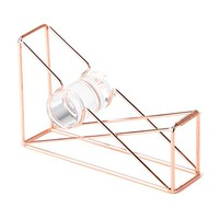 U Brands Tape Dispenser, Wire Metal, Copper