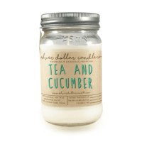 Tea and Cucumber - 16oz Soy Candle
