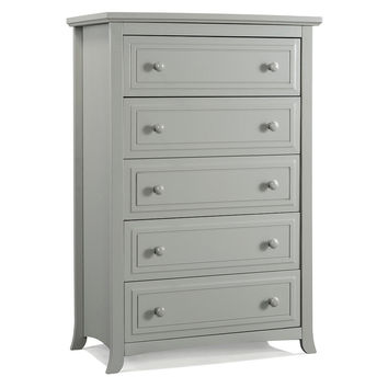 Graco Auburn 5 Drawer Dresser - Pebble Gray