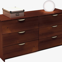 Six Drawer Doubler Dresser - Nocce Collection