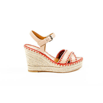 Multi Color 36 EUR - 6 US Valentino Womens Espadrille Wedge Sandal KW2S0043 VYA K27