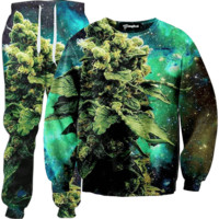 Weed of the Galaxy Tracksuit