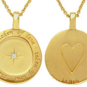 Token of Love Disc - Gold Plated