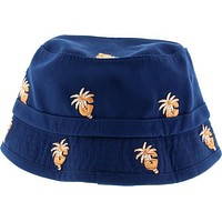 Grizzly Palm G Bucket Hat Ofa-Navy