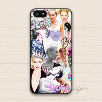 Miley cyrus iPhone 5 Case,iPhone 5s Case,iPhone 4 4s Case,Samsung Galaxy S3 S4 Case,Miley cyrus Collage Hard Plastic Rubber Cover Skin Case