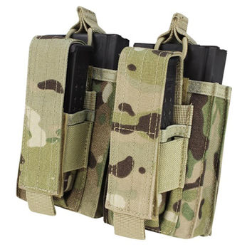 Double M14 Kangaroo Mag Pouch - Color: Multicam