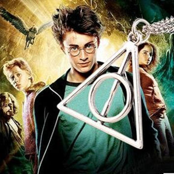 Harry Potter Harry Potter & the Deathly Hallows Triangle Pendant Necklace