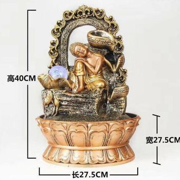Buddha LED Meditation  Theme Water Fountain