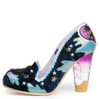 Irregular Choice Stars At Night Women's Navy Heels