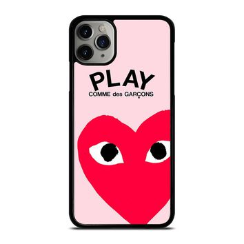 PLAY COMME DES GARCONS PINK iPhone Case Cover