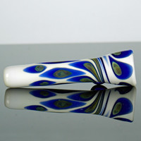 White Double Spotted Chillum