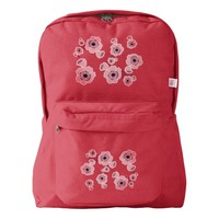 Cherry Blossoms American Apparel™ Backpack
