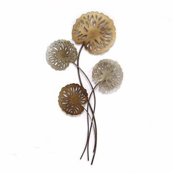 SHD-SHD0183 Water Lilies Wall Decor
