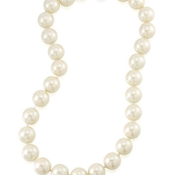 Carolee Dark Star Faux Pearl Necklace