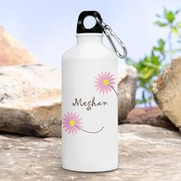 Inspirational Water Bottle - Happy Blooms