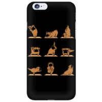 Pugs Doing Yoga iPhone Case