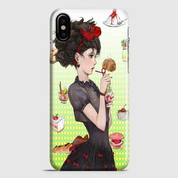 Kikis Delivery Service Teaser Poster iPhone X Case