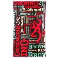 Browning Buckmark Logo Collage Beach Towel - Back40