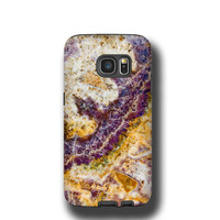 Semi Precious Stone Samsung Galaxy S7 case iPhone 6s Case iPhone 5s case Gemstone iPhone SE case Mineral Galaxy S7 Edge Galaxy Note 5 geode