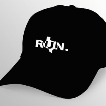 Texas RUN. Cap