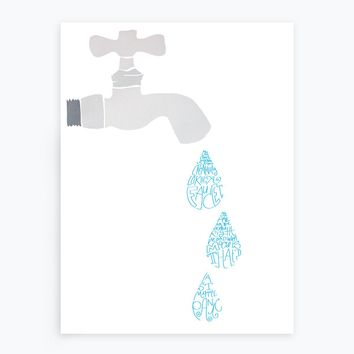 Creative Faucet Poster