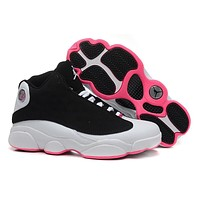 Air Jordan 13 Retro Aj13 439358-008 Women Basketball Shoes - Beauty Ticks