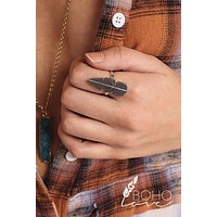 Kai Feather Ring (Silver)