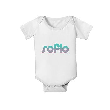 SoFlo - South Beach Style Design Baby Romper Bodysuit by TooLoud