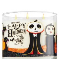 3-Wick Candle Happy Halloween - Sweet Cinnamon Pumpkin
