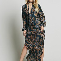 Free People Womens Bellissima Printed Maxi