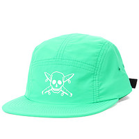 The Pirate Nylon 5-Panel in Kelly Green