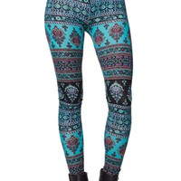LA Hearts Cotton Span Leggings - Womens Pants