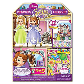 Sofia the First Magnetic Dress up and Playhouse Castle