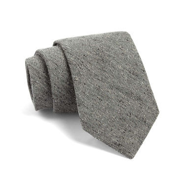 Fulton Tie in Grey Nepps Mix