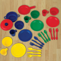 KidKraft 27 Piece Cookware Play set - Primary - 63127