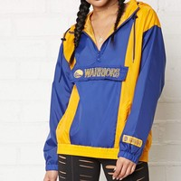 NBA Warriors Anorak Jacket