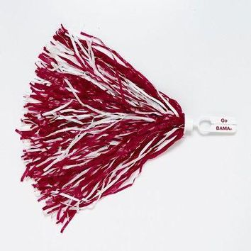 Licensed Alabama Crimson Tide Official NCAA 500 Strand Cheer Pom Pom Bama by Wincraft KO_19_1