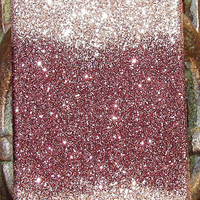 Sparkly Brown Fade iPhone 4/4G Cell Phone Case - iPhone 5 cases available