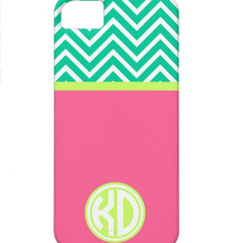 Kappa Delta Chevron Monogram  Phone Cases
