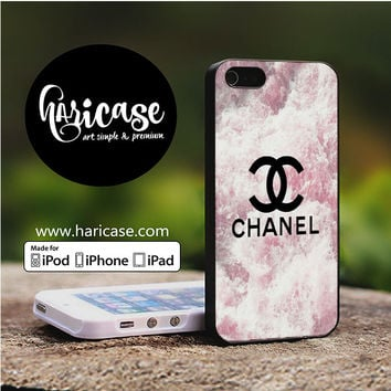 Chanel Flowers Pink iPhone 5 | 5S | SE Cases haricase.com