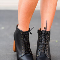 Clog Booties in Black
