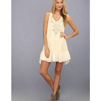 Free People Toosaloosa Slub Embroidered Daze Dress