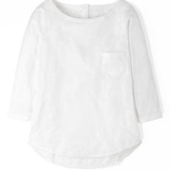 Broderie Back Top